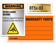 Outdoor Labels