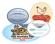 Circle and Oval Labels